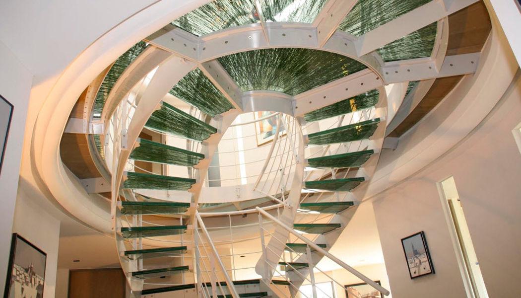 SCHAFFNER Escalier à double volée Escaliers Echelles Equipement  |