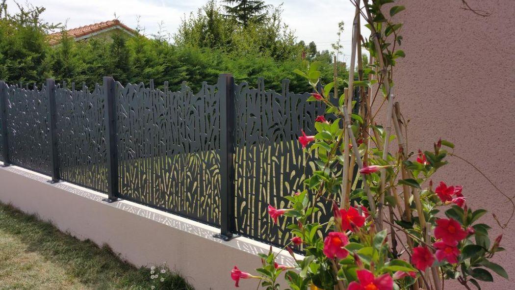 Gyt  Ambellya Clôture ajourée Clôtures Bordures Jardin Abris Portails...  |