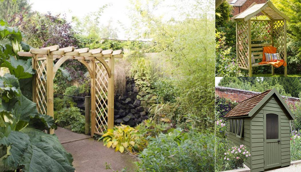 Forest Garden Banc couvert Bancs de jardin Jardin Mobilier  |