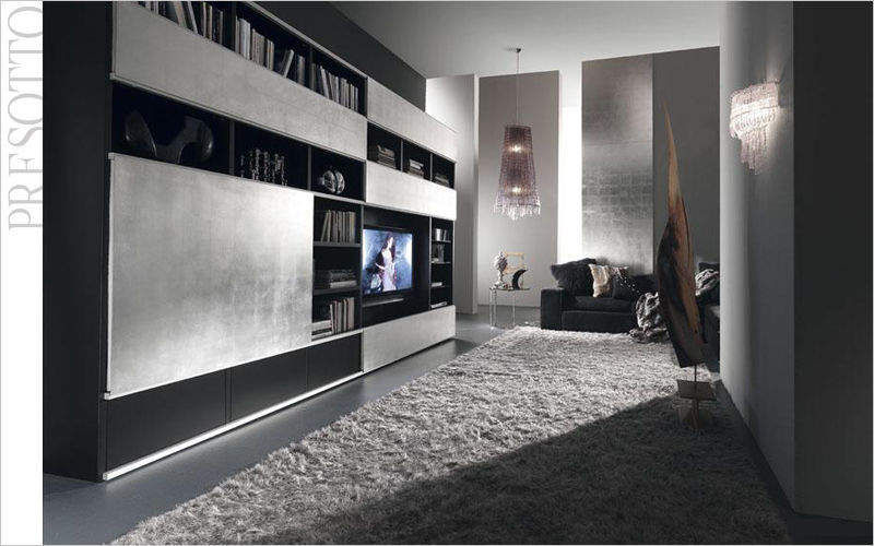 Presotto Meuble de salon-Living Bahuts Buffets Meubles de salon Rangements Salon-Bar | Design Contemporain
