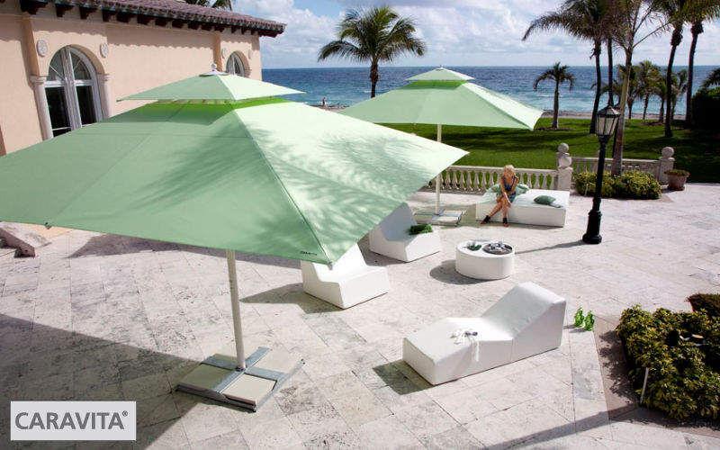 Caravita Parasol Parasols Tonnelles Jardin Mobilier Terrasse | Contemporain