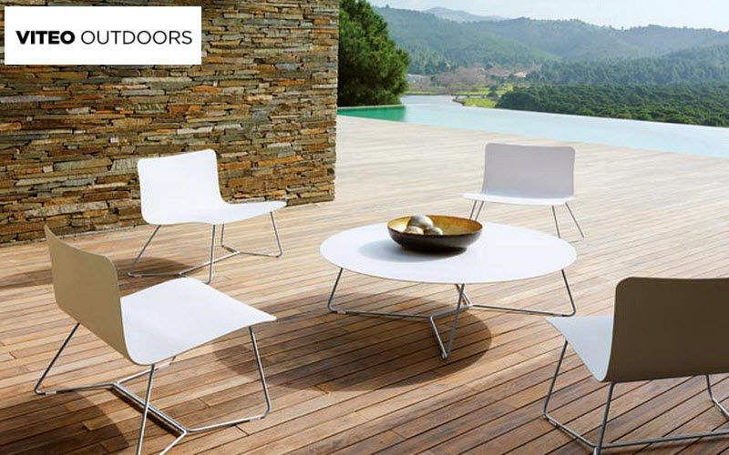 Viteo Outdoors Salon de jardin Salons complets Jardin Mobilier Terrasse | Design Contemporain