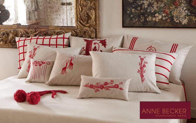 Anne Becker Coussin rectangulaire Coussins Oreillers Linge de Maison Salon-Bar | Classique