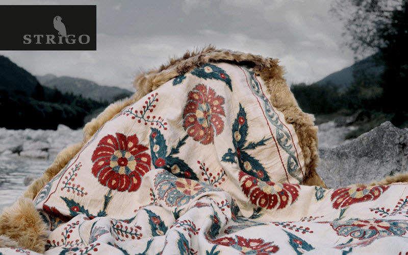 STRIGO Plaid Couvre-lits Linge de Maison Chambre | Ailleurs