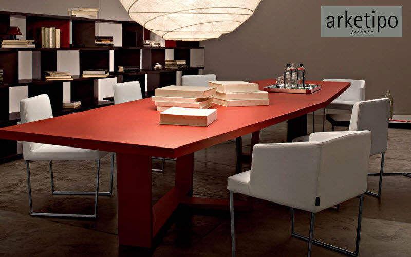 Arketipo Table de réunion Bureaux et Tables Bureau Lieu de travail | Design Contemporain