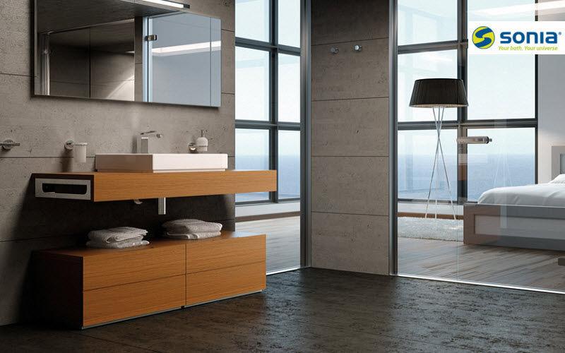 Sonia Meuble sous-vasque Meubles de salle de bains Bain Sanitaires Salle de bains | Design Contemporain