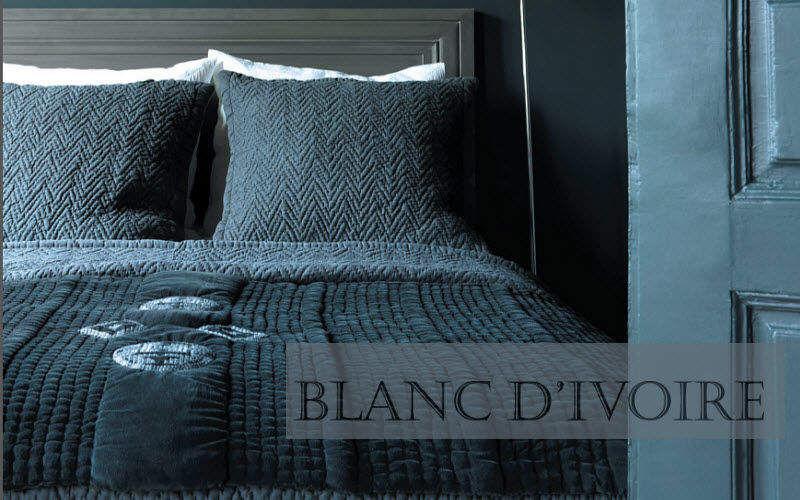 BLANC D'IVOIRE Couvre-lit Couvre-lits Linge de Maison Chambre | Charme