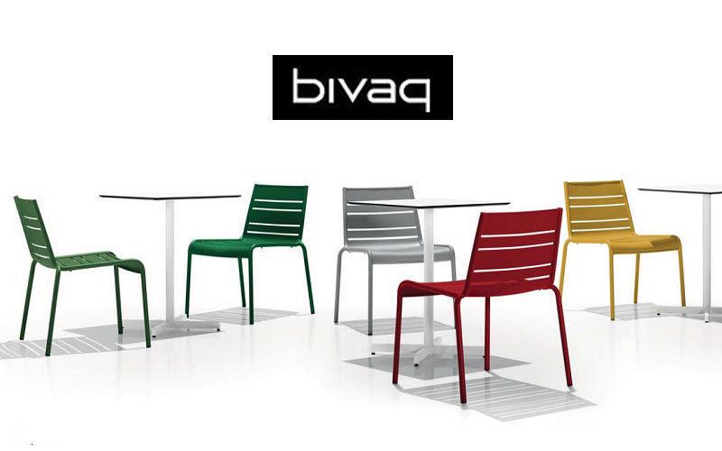 BIVAQ Chaise de jardin empilable Chaises de jardin Jardin Mobilier  |