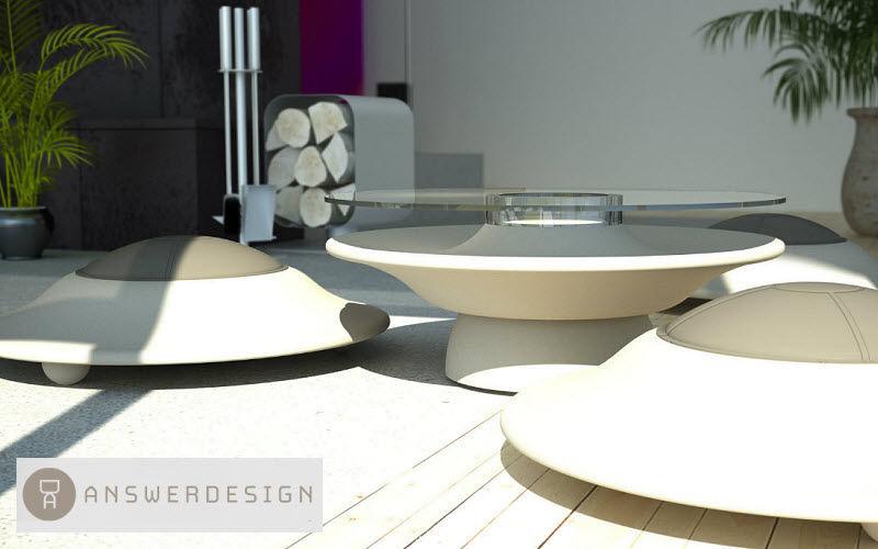 ANSWERDESIGN Salon de jardin Salons complets Jardin Mobilier Terrasse | Décalé