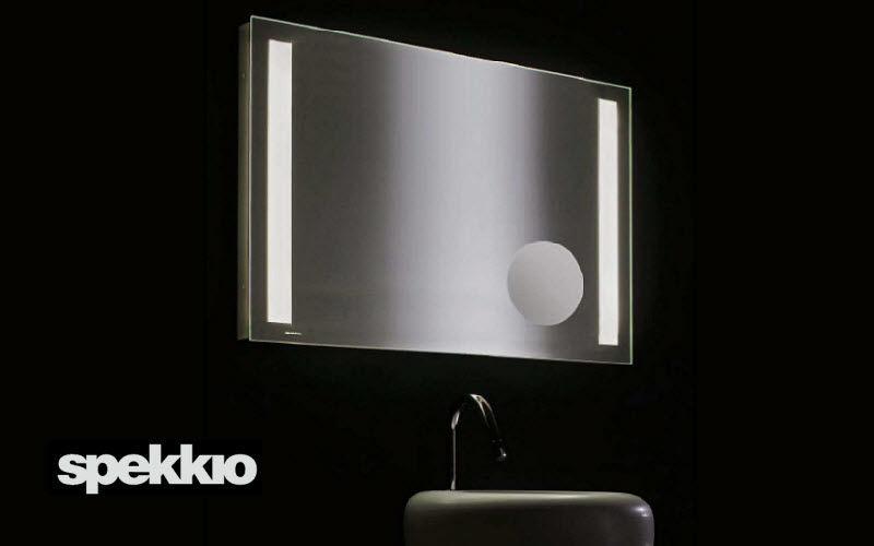 Miroirs de salle de bains bain sanitaires decofinder - Miroir salle de bain avec eclairage ...