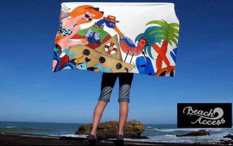 BEACH ACCESS Drap de plage Linge de toilette Linge de Maison Jardin-Piscine | Décalé