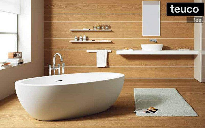 Baignoire ilot baignoires decofinder - Salle de bain avec baignoire ilot ...