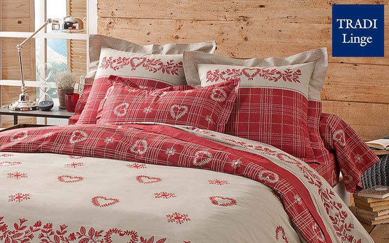 Tradilinge Parure de lit Parures de lit Linge de Maison Chambre | Montagne