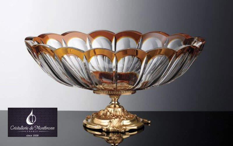Cristallerie de Montbronn Coupe décorative Coupes et contenants Objets décoratifs  |