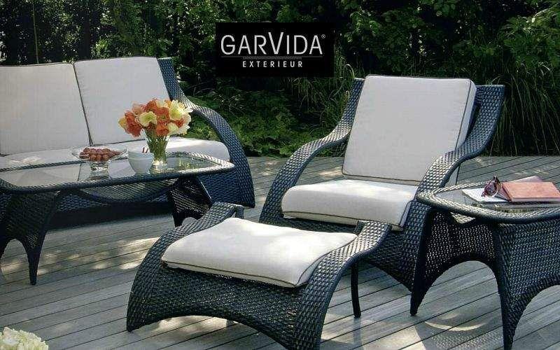 GARVIDA Salon de jardin Salons complets Jardin Mobilier  |