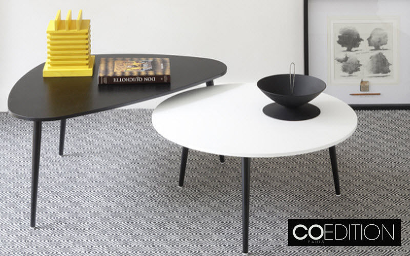 COEDITION Table basse ronde Tables basses Tables & divers  |