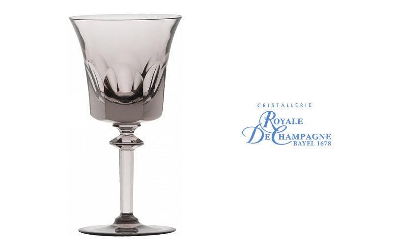 Cristallerie Royale De Champagne Verre à pied Verres Verrerie   