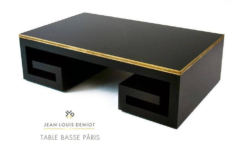 JEAN-LOUIS DENIOT Table basse rectangulaire Tables basses Tables & divers  |