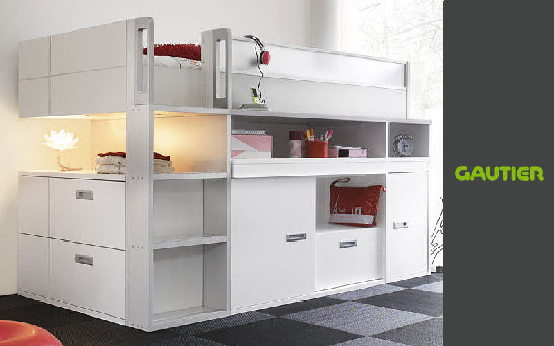 lit mezzanine enfant chambres enfant decofinder. Black Bedroom Furniture Sets. Home Design Ideas