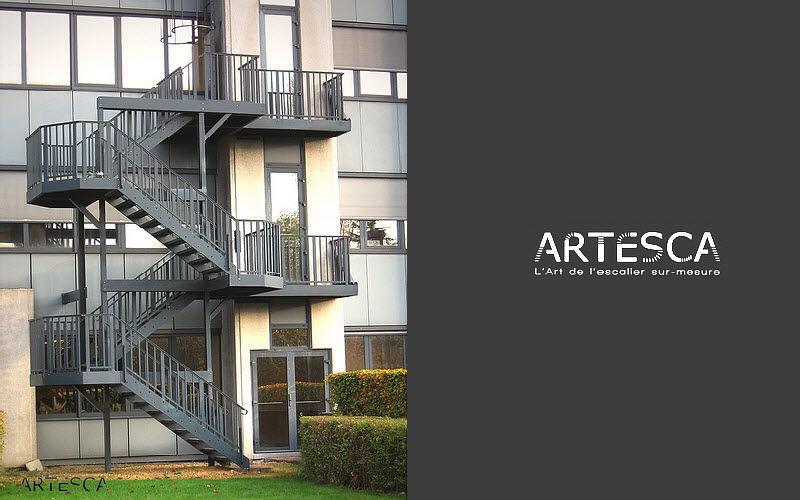 ARTESCA Escalier d'extérieur Escaliers Echelles Equipement  |