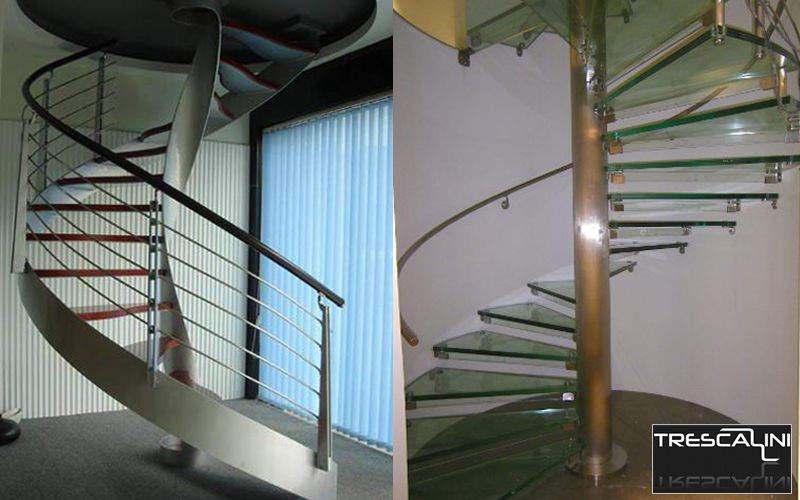 Escalier h lico dal escaliers echelles decofinder for Comescalier helicoidal acier