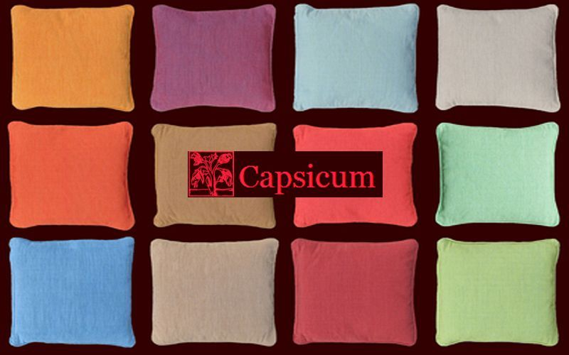 Capsicum Housse de coussin Coussins Oreillers Linge de Maison  |