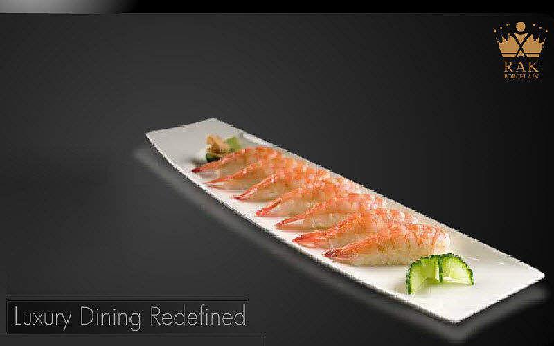 RAK PORCELAIN Assiette à sushi Assiettes Vaisselle  |