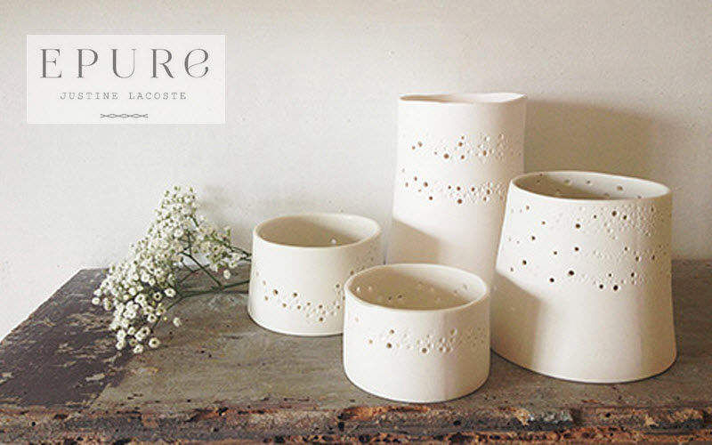 EPURE CERAMIQUE Photophore Bougies Bougeoirs Objets décoratifs  |
