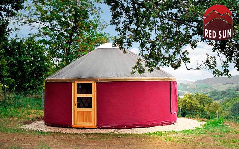 Yurta Red Sun Yourte Tentes Jardin Abris Portails...  |