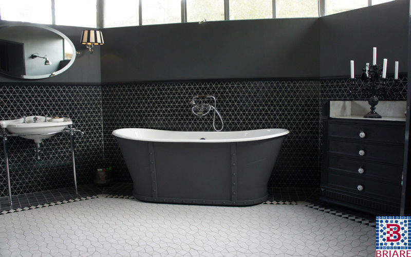 carrelage salle de bains carrelages muraux decofinder. Black Bedroom Furniture Sets. Home Design Ideas