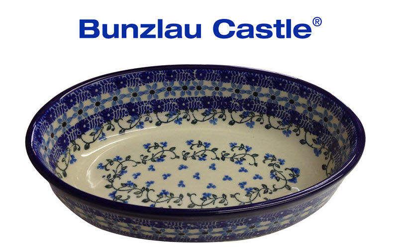 BUNZLAU CASTLE Plat ovale Plats Vaisselle  | Charme