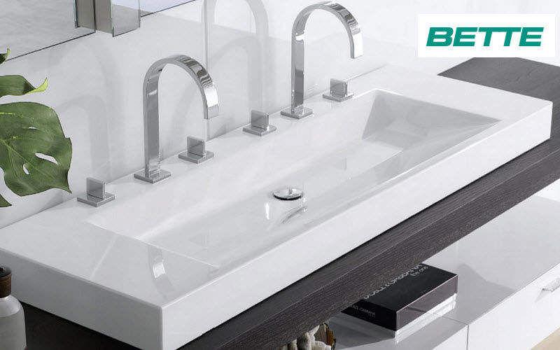 Bette Vasque à poser double Vasques et lavabos Bain Sanitaires  |