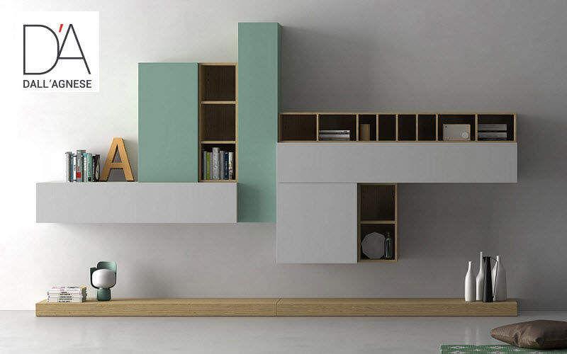 Dall Agnese Combinaison murale living Bahuts Buffets Meubles de salon Rangements  |