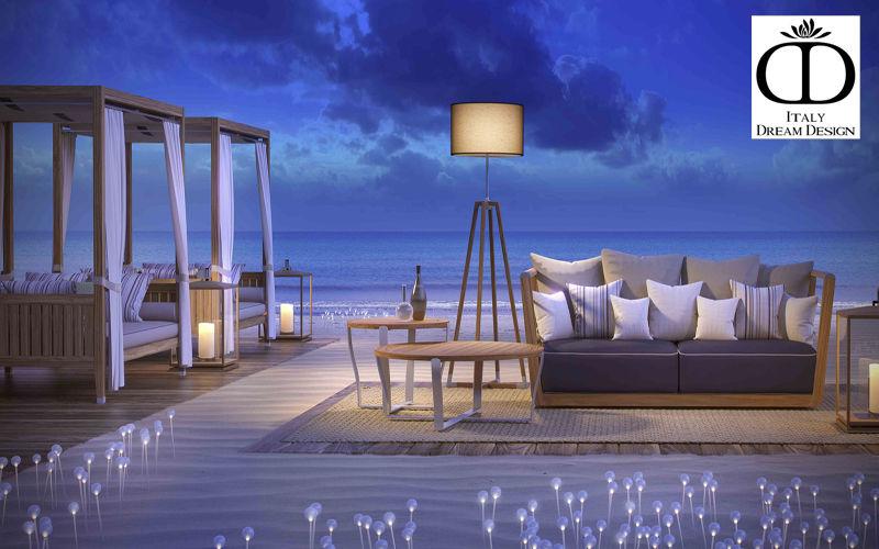 ITALY DREAM DESIGN Canapé de jardin Salons complets Jardin Mobilier Terrasse  