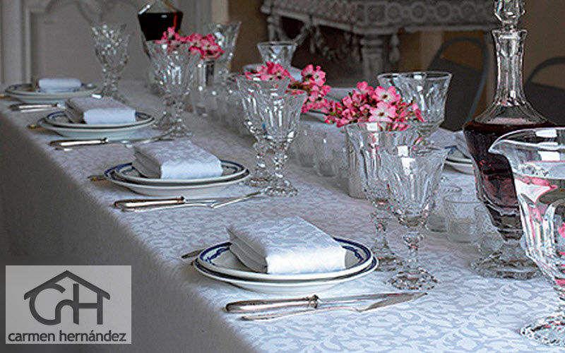 Casa Carmen Hernandez Nappe et serviettes assorties Nappes Linge de Table  |