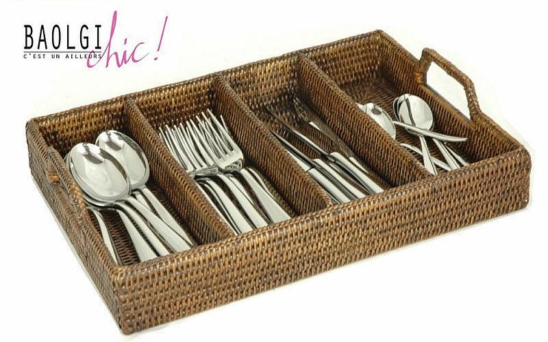 BaolgiChic Range-couverts Rangements Cuisine Accessoires  |