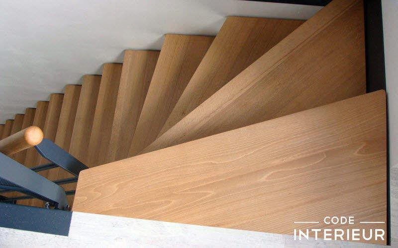 CODE INTERIEUR Escalier un quart tournant Escaliers Echelles Equipement  |