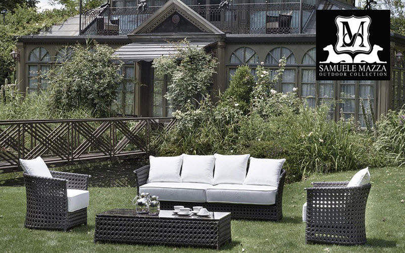 SAMUELE MAZZA OUTDOOR COLLECTION Salon de jardin Salons complets Jardin Mobilier  |