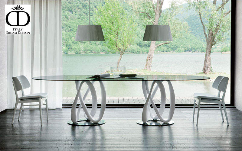 Table de repas ovale tables de repas decofinder - Table de repas design italien ...