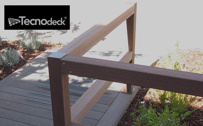 TECNODECK Clôture ajourée Clôtures Bordures Jardin Abris Portails...  |