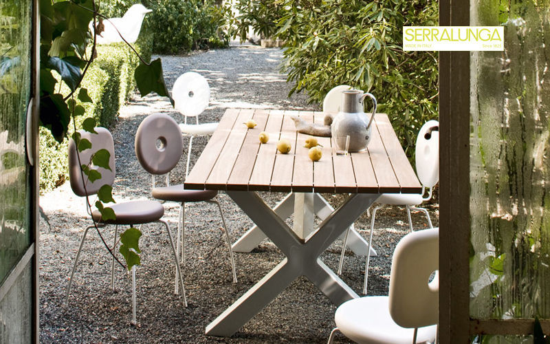 Serralunga Table de jardin Tables de jardin Jardin Mobilier  |