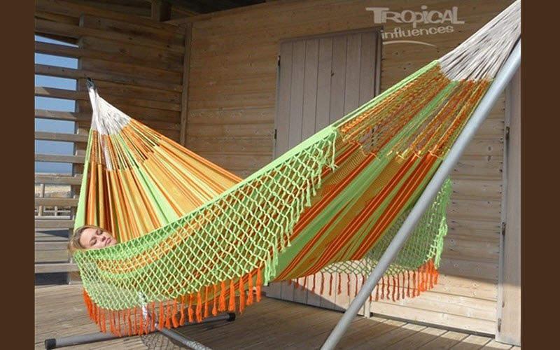 Hamac Tropical Influences Hamac filet Hamacs Jardin Mobilier   