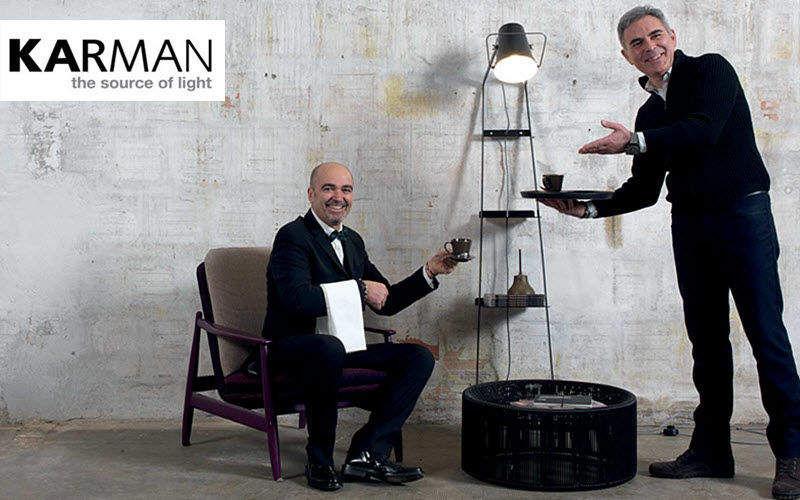 KARMAN Lampadaire mural Lampadaires Luminaires Intérieur  |
