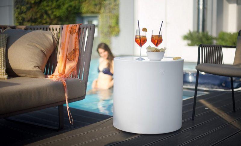 Lyxo by Veca Table d'appoint de jardin Tables de jardin Jardin Mobilier   
