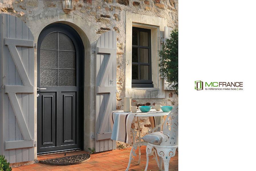 Mc France Porte d'entrée vitrée Portes Portes et Fenêtres  | Charme