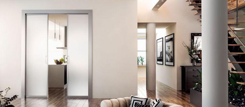 porte galandage portes decofinder. Black Bedroom Furniture Sets. Home Design Ideas