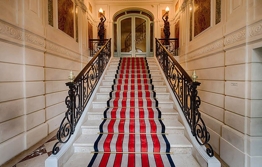 Casa Lopez Tapis d'escalier Tapis de seuil couloir escalier Tapis Tapisserie  |