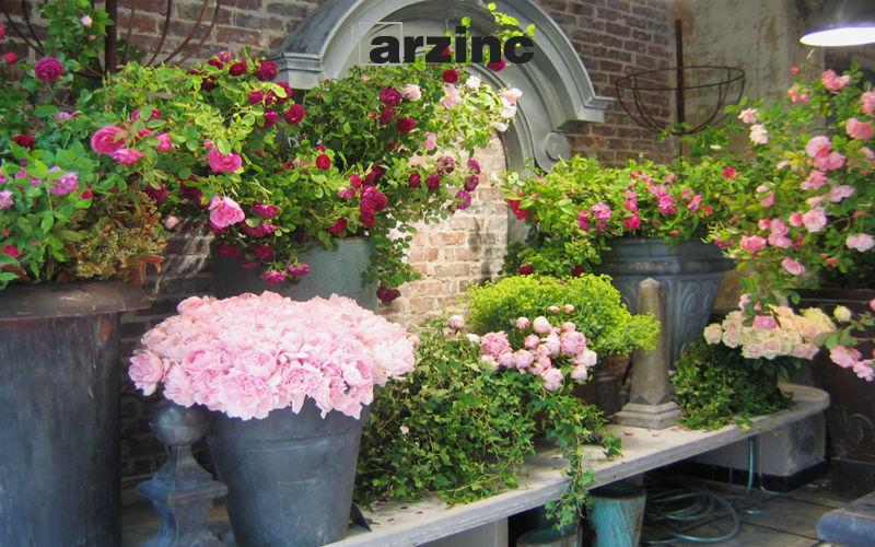 Arzinc Pot de fleur Pots de jardin Jardin Bacs Pots  |