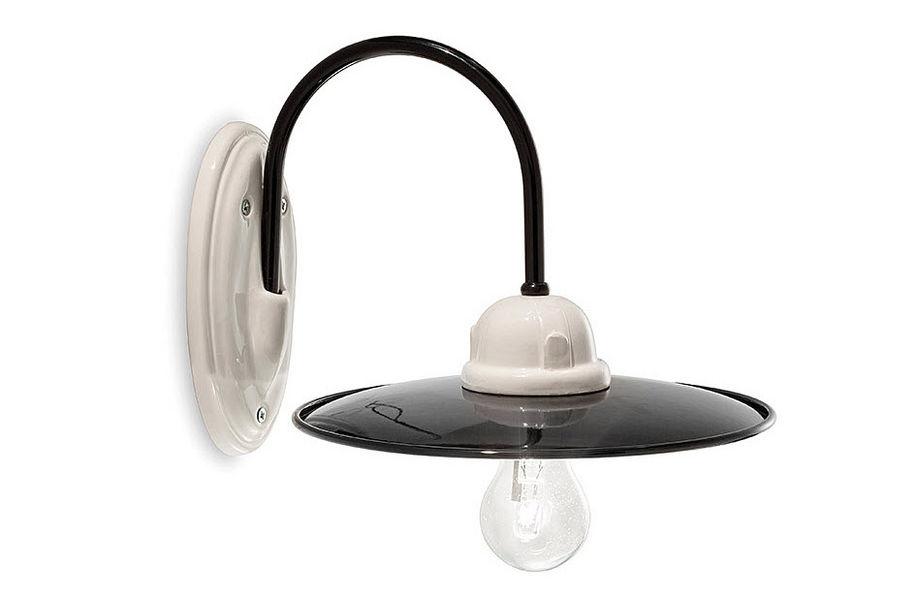 Applique ferroluce wandlampe im stil einer petroleumlampe in