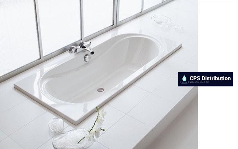 CPS DISTRIBUTION Baignoire à encastrer Baignoires Bain Sanitaires  |